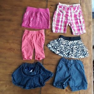 Other - Baby Girl Skirt & Short Set, 12 m, bundle and save